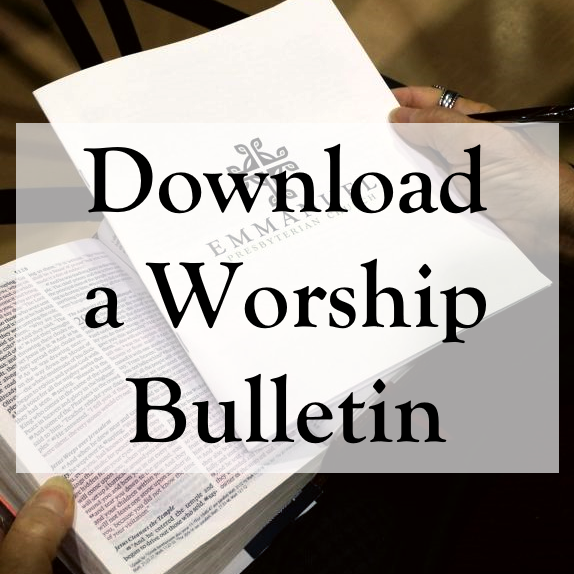 Download a Worship Bulletin